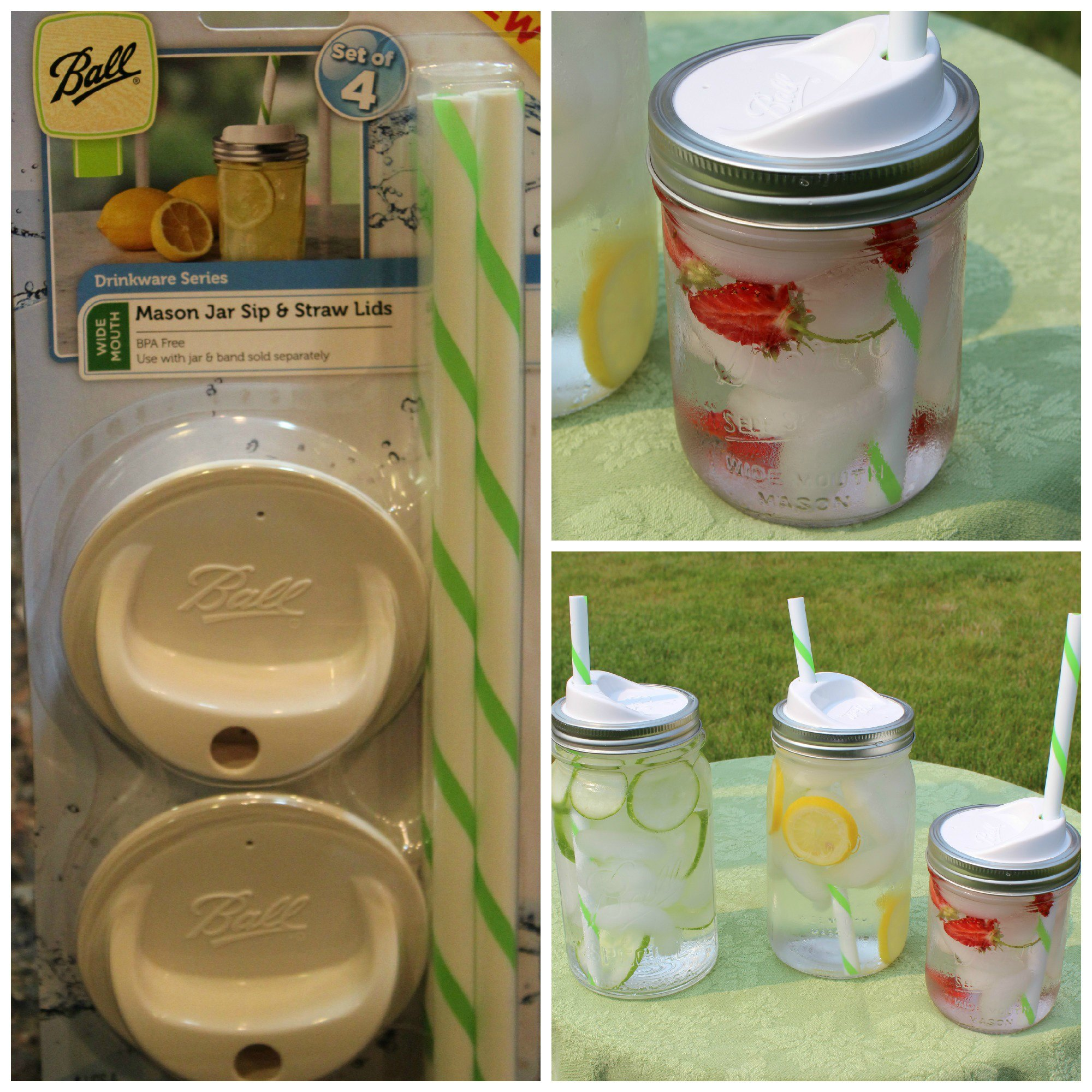 Mason Jar Sip And Straw Lids Product Review Mirlandras Kitchen