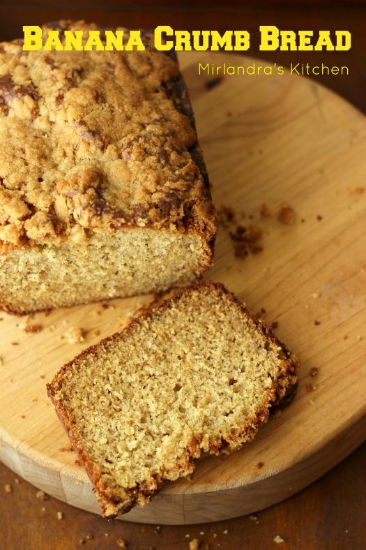 Banana Crumb Bread