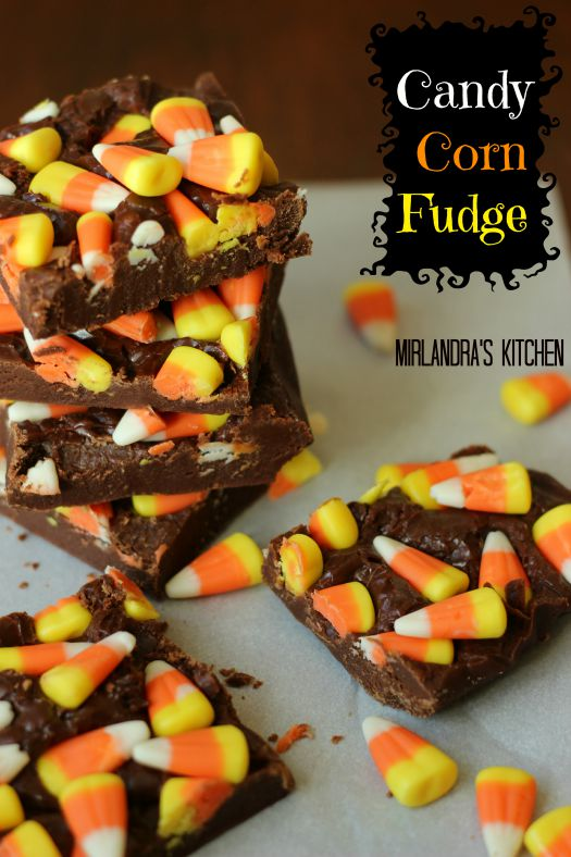 Candy Corn Fudge is a fun fall treat with a no fail fudge recipe behind it. You just can't beat the taste of fresh fudge with candy corn in it! This is a kid friendly project that only takes a few minutes.
