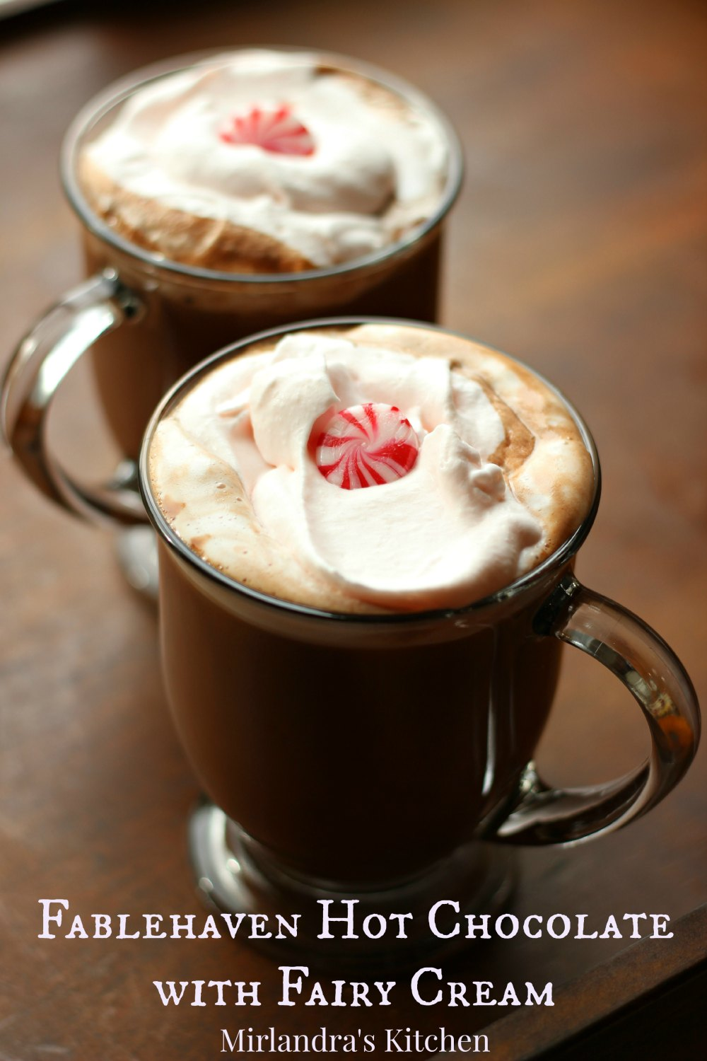 Deliciously rich hot chocolate is the perfect homemade winter drink. My mom made hot chocolate with me when I was a little girl and it made the best memories. Take some time this winter and make some from scratch - you won't regret it. And...if your kids are reading the Fablehaven books this is the perfect treat to share with them!