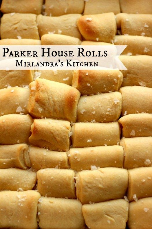 Traditional Parker House Rolls are easier that you might think and have a wonderful buttery flavor with just a hint of sweetness. They can be made in advance and baked right before dinner. It is a perfect recipe for Thanksgiving because the turkey needs to rest for 30 minutes after it comes out of the oven and the rolls need to bake for about 30 minutes. Yep - that is dinner planning magic!