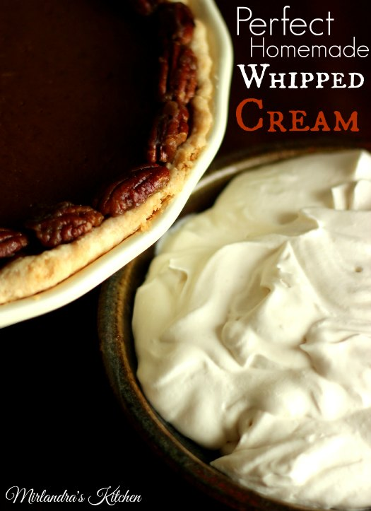 PerfectHomemadeWhippedCream