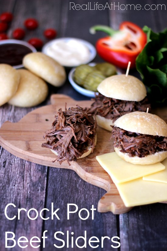 CrockPotBeefSliders