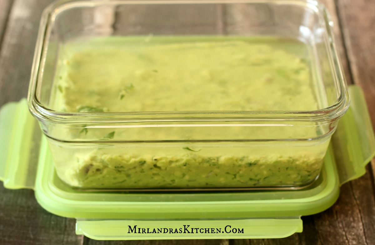 Prevent Guacamole From Browning