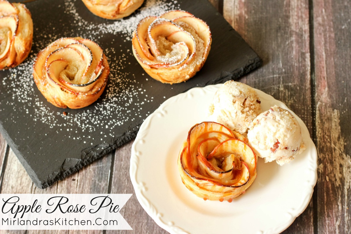 Apple Rose Pie Mirlandra S Kitchen