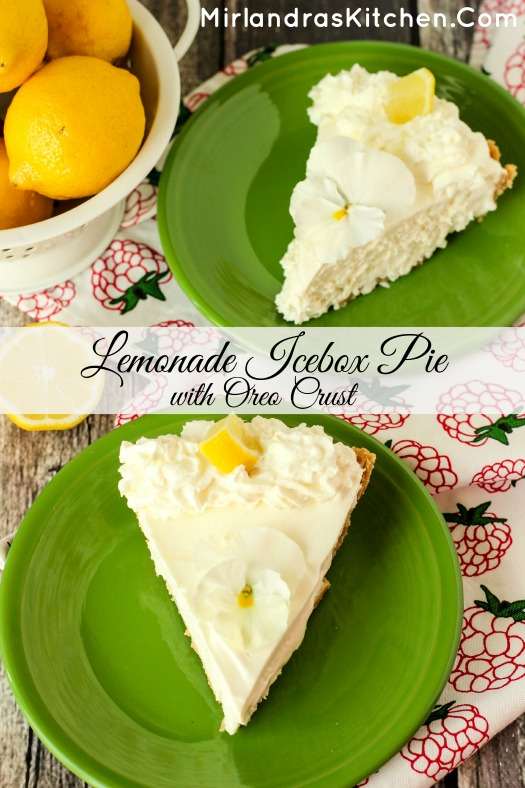 Sweet, tart and creamy, this Lemonade Icebox Pie only takes 10 minutes and 5 ingredients. It is a summer home run with whipped cream or strawberry sauce.