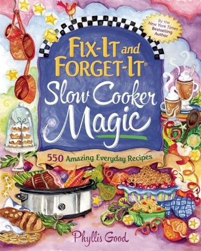 Meet the only slow cooker cookbook I have ever fallen in love with! Fix It and Forget It Slow Cooker Magic is the best slow cooker book I have ever used!