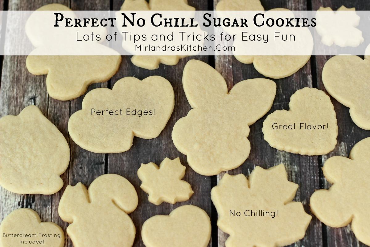 Perfect No Chill Sugar Cookies Mirlandra S Kitchen