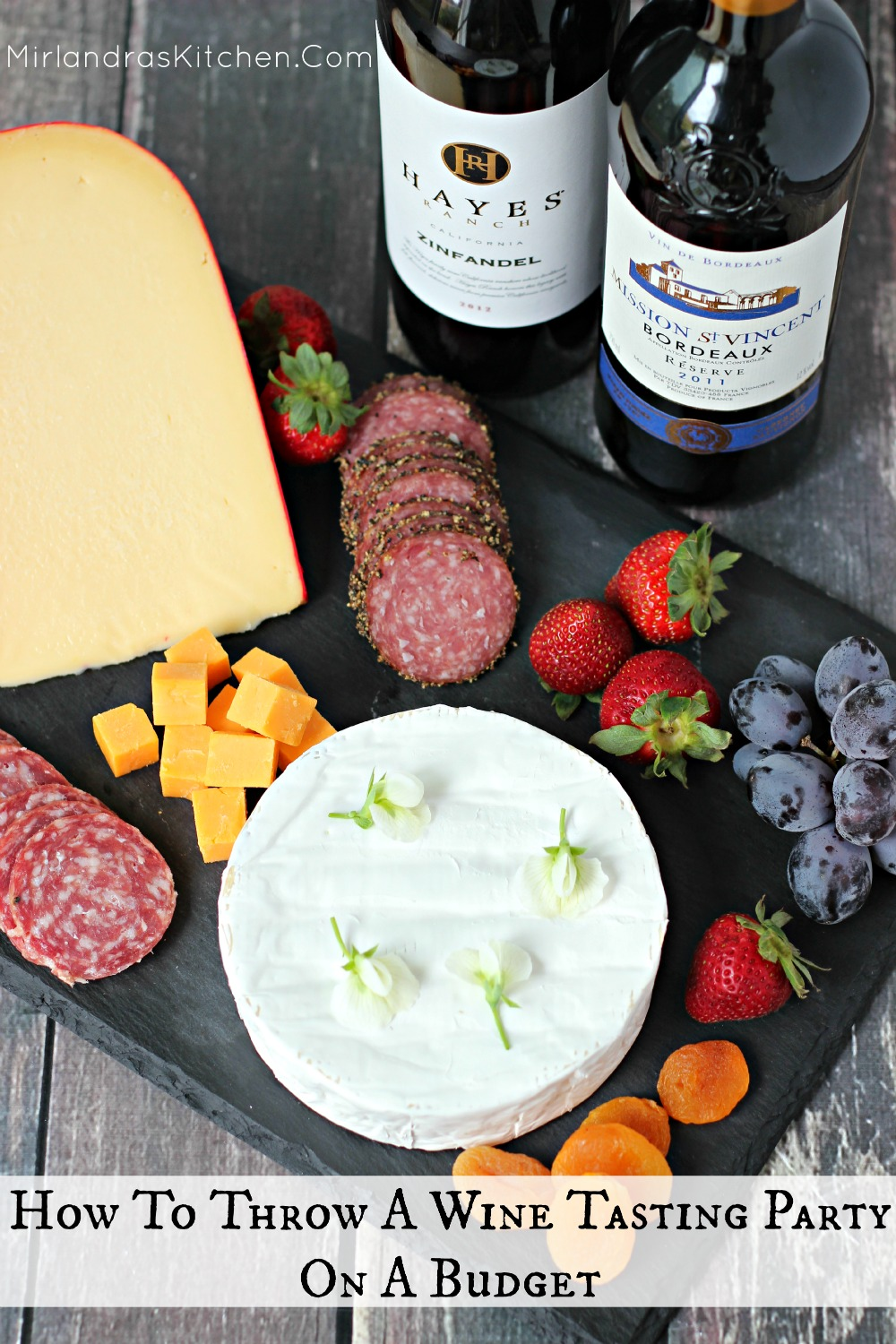 "You can throw a fun wine tasting party on a budget. I provide all the best ""how to"" info and some great tips for setting up the party of the season!"
