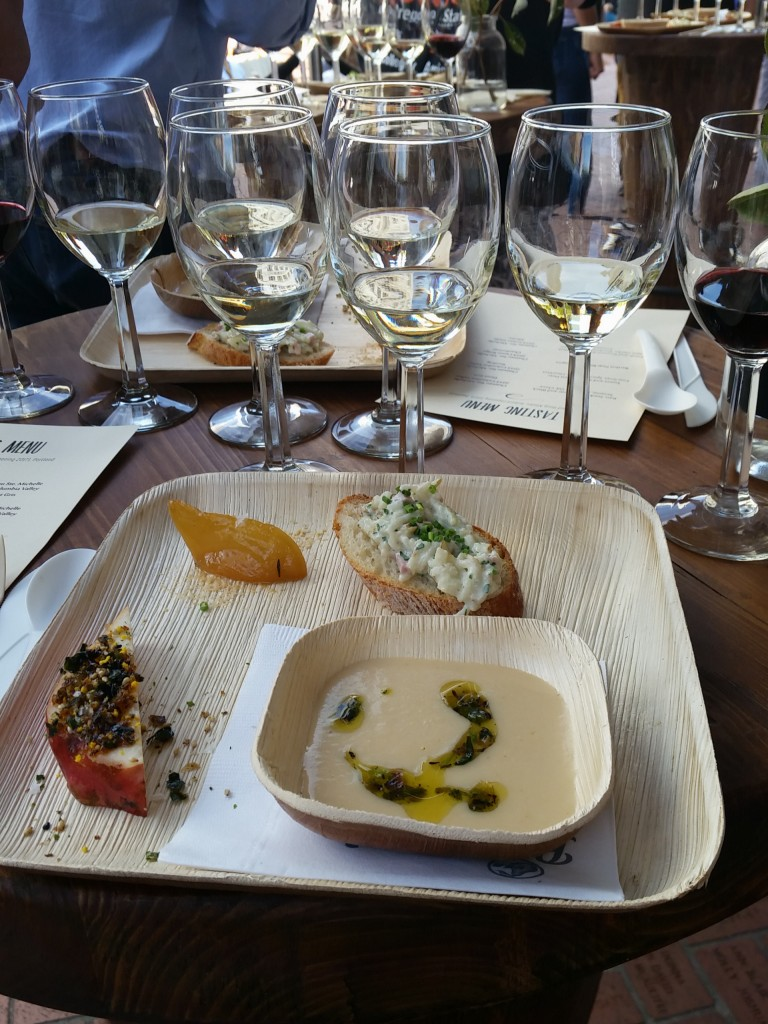 USA Pears Wine Tasting Feast PDX 2016