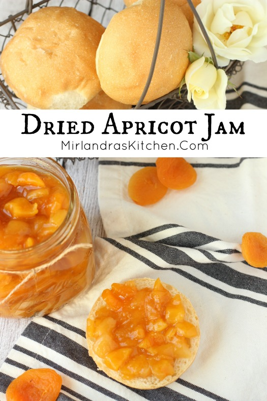 9a3a84e95705 Quick and Easy Dried Apricot Jam - Mirlandra s Kitchen