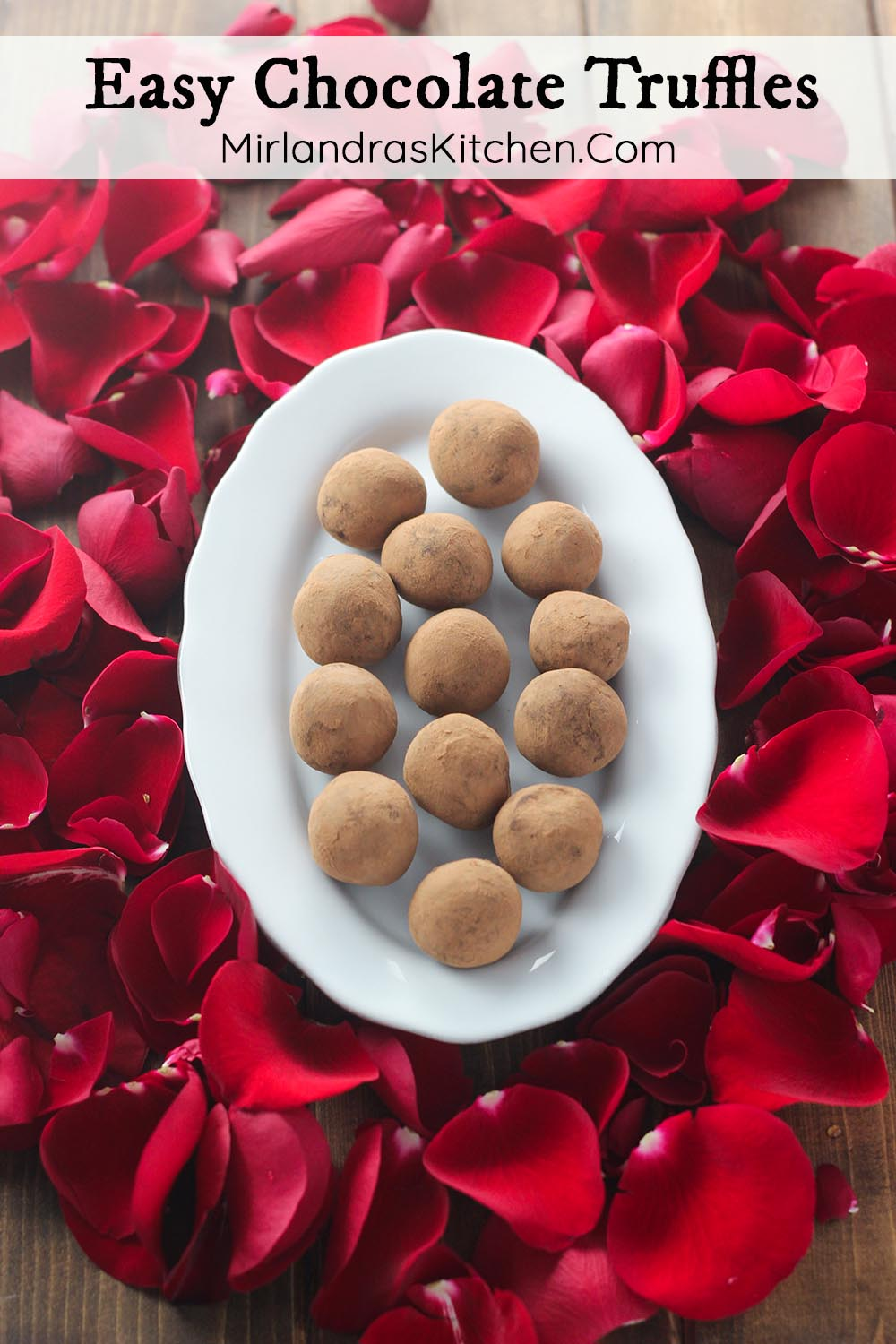 Think making special candy is hard? Think again! These Easy Chocolate Truffles are decadent and only require a few simple ingredients to make. Creamy, rich, and indulgent they will make you smile again and again. Who will you be making a batch for?